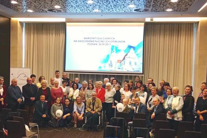 Warsztaty dla chorych na nadciśnienie płucne i ich opiekunów – Poznań 2017