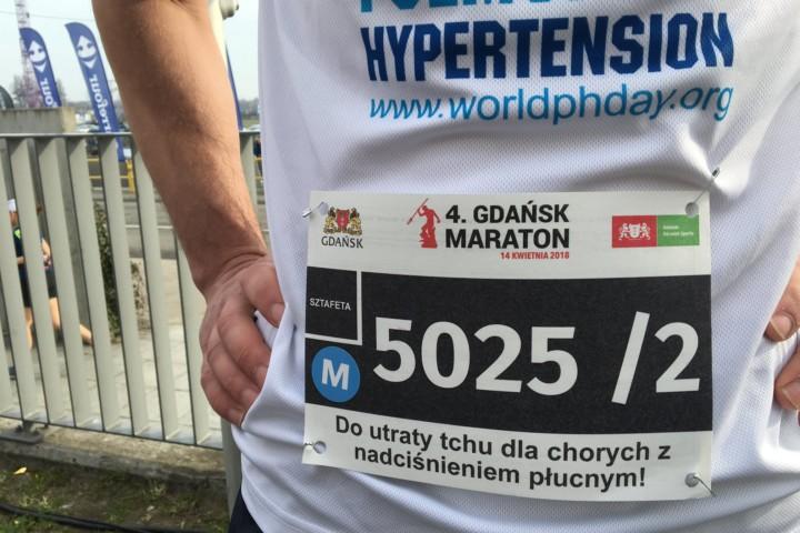 Przebiegli Gdańsk Maraton specjalnie dla chorych z nadciśnieniem płucnym