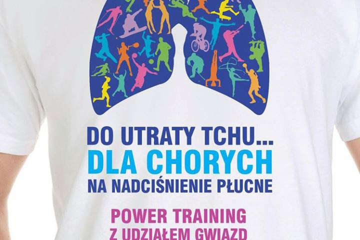 Power training z udziałem gwiazd dla chorych na nadciśnienie płucne