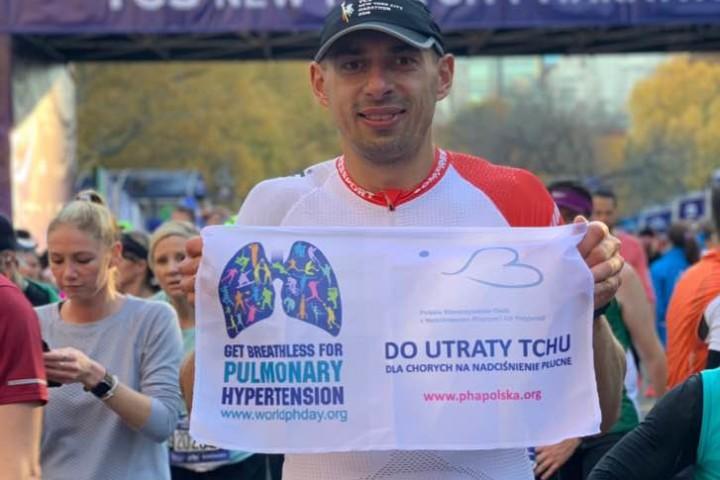 Nowojorski bieg do utraty tchu – czyli piękny gest polskiego podróżnika dla chorych z nadciśnieniem płucnym