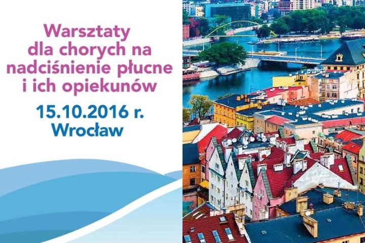 Warsztaty dla chorych na nadciśnienie płucne 15.10.2016 Wrocław