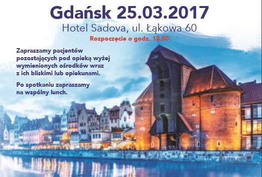 Warsztaty dla chorych Gdańsk 25.03.2017