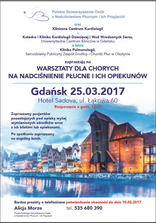 warsztaty Gdansk