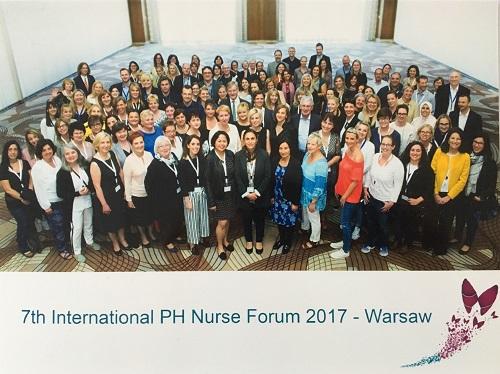 VII Międzynarodowe Forum Pielęgniarek zajmujących się osobami  z nadciśnieniem płucnym
