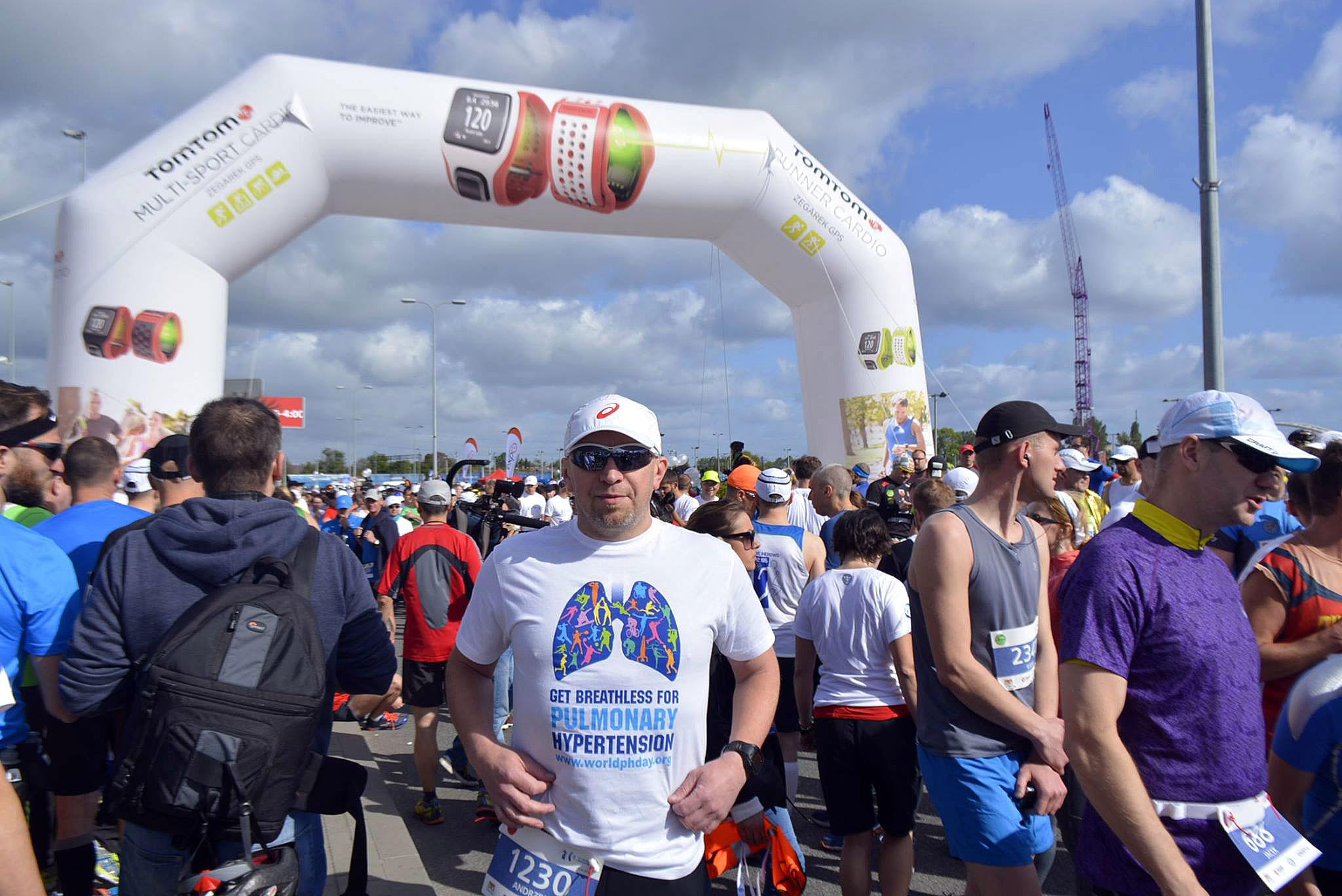 Andrzej Cygert Team Gdynia Get Breathless Na Starcie Do Maratonu.