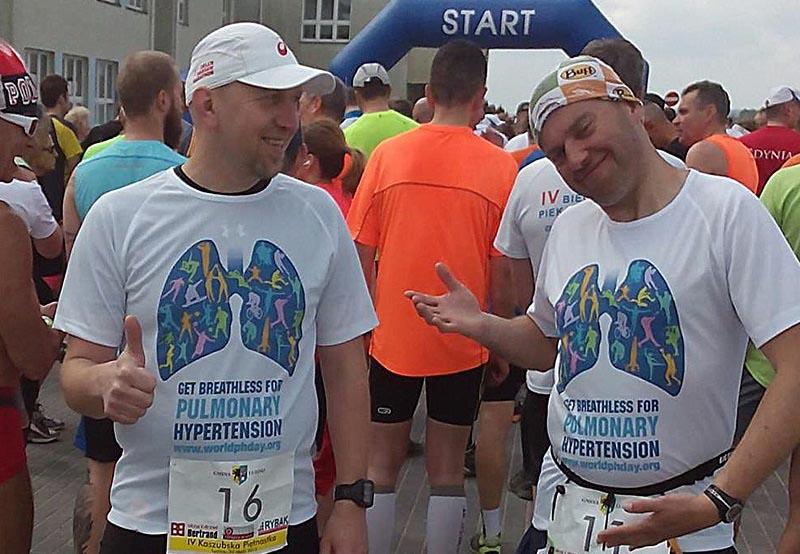 Andrzej Cygert I Tomasz Daduń Team Gdynia Get Breathless Tuż Przed Startem 30.05